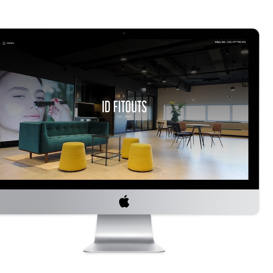 ID Fitouts new website design